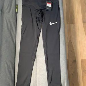 Nike DRI-FIT targeted abrasion resistance